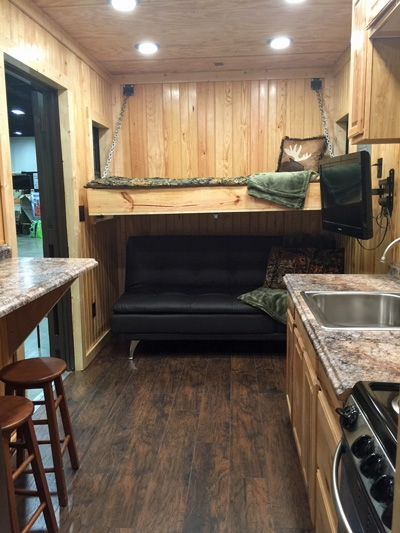 hunting cabin shipping container container king Shipping Container Hunting Cabin
