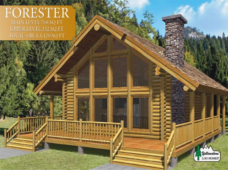 lake homes hunting cabins and log homes Prefab Small Log Cabin Kits