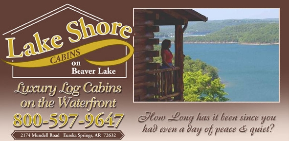 lake shore cabins on beaver lake eureka springs online Beaver Lake Cabins Eureka Springs