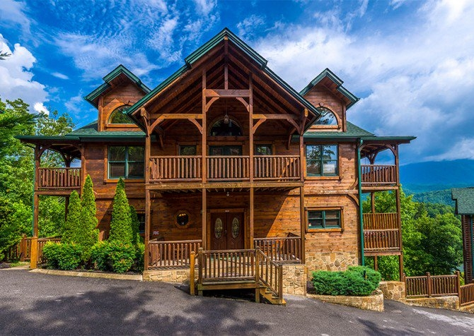 luxury cabins in gatlinburg and pigeon forge tn Gatlinburg 1 Bedroom Cabins