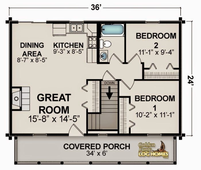 ranch home plan 1750 sq ft digital pdf floor plan style open 1000 Sq Ft Cabin Floor Plans