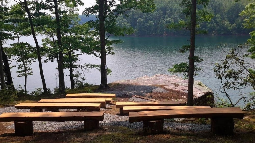 serenity point wedding venue at mountain lake campground and cabins Mountain Lake Campground And Cabins