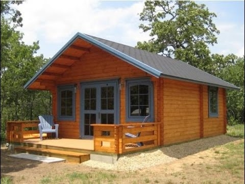 small log cabin kits 3 rooms loft cozy home youtube Small Log Cabins With Loft