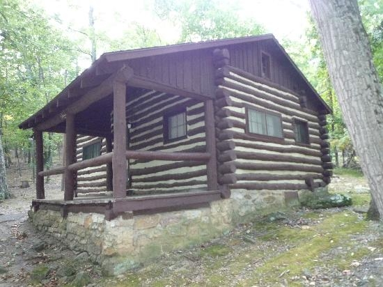 standard cabin exterior picture of cacapon resort state park Berkeley Springs Wv Cabins