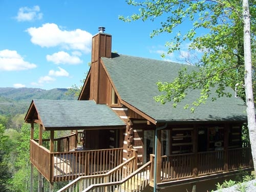 sweet surrender gatlinburg log cabin in gatlinburg tn Private Cabins In Gatlinburg