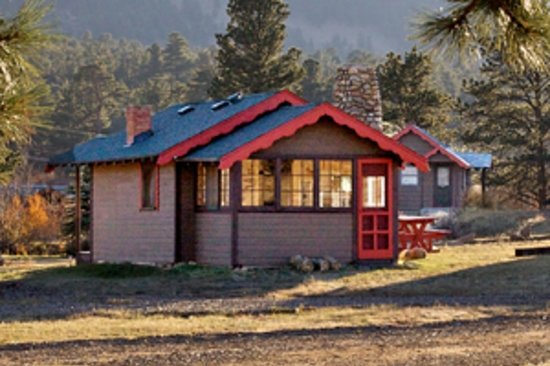 tiny town cabins updated 2019 prices campground reviews estes Estes Park Colorado Cabins