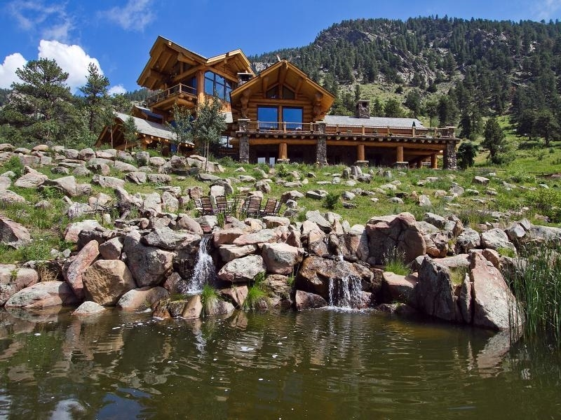 trend alert luxury log cabins with modern layouts colorado real Cabins In Colorado Mountains