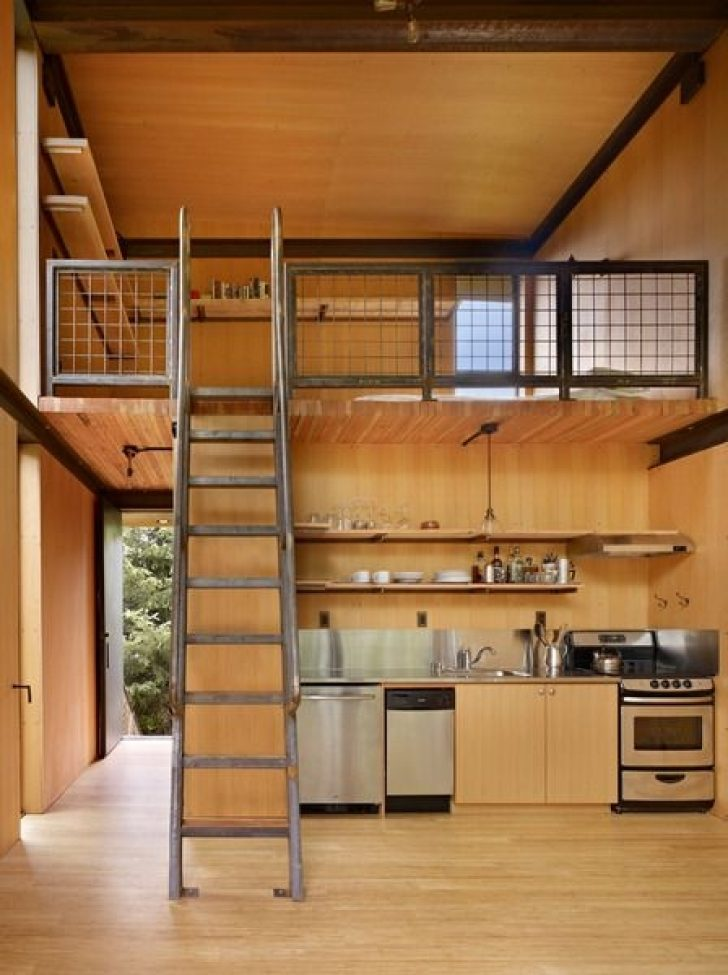 Permalink to Cozy Decorating A Small Cabin Loft Inspirations