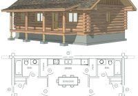 2 bedroom cabin floor plans idea small cabin floor plans with loft 2 Bedroom Cabin Floor Plans
