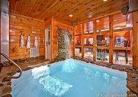 2 bedroom cabin with private indoor pool and sauna tripadvisor Cabins With Private Indoor Pools