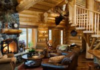 21 rustic log cabin interior design ideas style motivation Rustic Cabin Interior Design