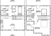 24×24 house 24x24h2 1143 sq ft excellent floor plans 24×24 Cabin Floor Plans With Loft