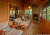 4 bedroom cabin with screened in porch and outdoor fireplace Tripadvisor Gatlinburg Cabins