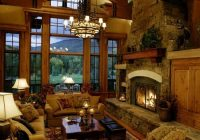 46 stunning rustic living room design ideas fireplaces pinterest Country Cabin Living Room Ideas