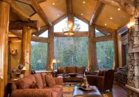 47 extremely cozy and rustic cabin style living rooms dream home White Walls Brown Furniture Cabin Style Home