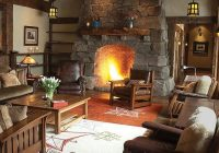 47 extremely cozy and rustic cabin style living rooms rasina White Walls Brown Furniture Cabin Style Home