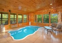 5 star smoky mountain cabin near dollywood private pool Gatlinburg Cabin Indoor Pool