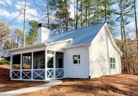 Small Lake Cabin Plans-Cottage House Plans – Architectural Designs