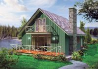 Small Lake Cabin Plans-House Plan 5633-00411 – Cottage Plan: 1,200 Square Feet, 3 Bedrooms, 1.5  Bathrooms | Lake House Plans, Small Lake Houses, Cottage Style House Plans