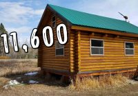 Build A Cabin Kit-TinyHouse Log Cabin Kit (Only $11,600) – YouTube