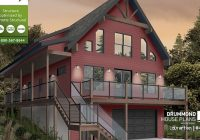 Small Lake Cabin Plans-Best Lake House Plans, Waterfront Cottage Plans, Simple Designs