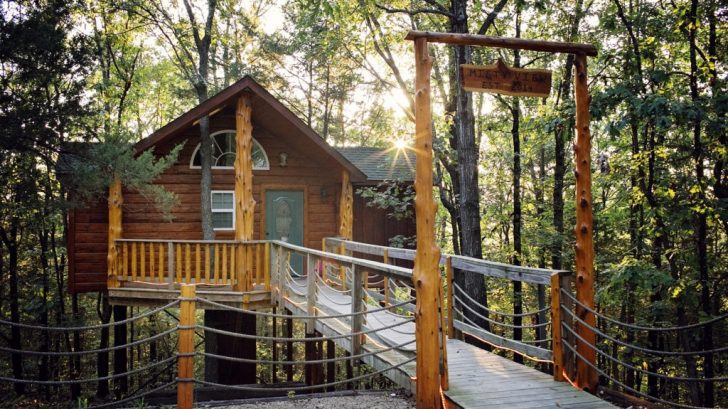 Permalink to Treehouse Cabins Branson Mo
