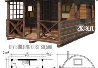 Small Cabin Designs-Cute Small Cabin Plans (A-Frame Tiny House Plans, Cottages, Containers) –  Craft-Mart