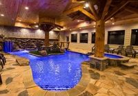 Luxury Cabins In Tennessee-Eagle River Lodge – Pigeon Forge TN Cabins | Indoor Pool, Tennessee Cabins,  River Lodge