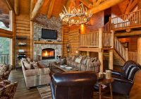 Luxury Cabin Interiors-22 Luxurious Log Cabin Interiors You HAVE To See – Log Cabin Hub