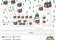 Hillside Country Cabins-Cabin Map | Hillside Country Cabins