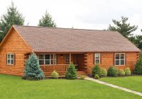 Manufactured Cabins-Frontier Cabins For Sale | Single Story Log Homes