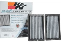 K&N Cabin Air Filter-K&N VF2064 Cabin Air Filter For 18-20 Jeep Wrangler JL & Gladiator JT With  3.6L Or 2.0L Engines | Quadratec