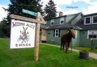 Partridge Cabins Pittsburg Nh-Partridge Cabins : Moose Alley Cones