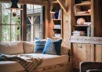 Small Rustic Cabin Interiors-Top 60 Best Log Cabin Interior Design Ideas – Mountain Retreat Homes