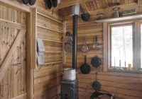 a 118 sq ft cabin in norway the home is totally off grid with no Small Off Grid Cabin Interior
