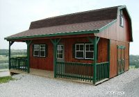 amish built sheds and buildings for sale in ohio amish buildings Lofted Barn Cabin For Sale