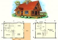 awesome small log cabin floor plans with loft log cabin plans Cabin Floor Plans With Loft