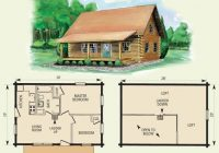awesome small log cabin floor plans with loft log cabin plans Small Log Cabin Floor Plans With Loft