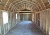 baml 12×40 shed plans 14×40 Side Lofted Barn Cabin Floor Plans