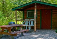 bass lake campground family camping near wisconsin dells Wisconsin Dells Camping Cabins