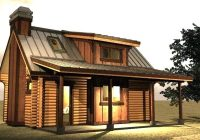 best small cabins with loft cabin plan ideas Small Cabin With Loft Plans