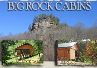 big rock vacation cabins near chillocothe tecumseh drama in beaver ohio Cabins Near Cleveland Ohio