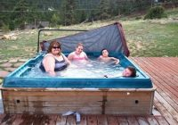 cabin 27 hot tub picture of valhalla resort estes park tripadvisor Cabins In Estes Park With Hot Tubs