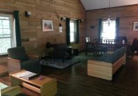 cabin 7 living room picture of roan mountain state park roan Roan Mountain State Park Cabins