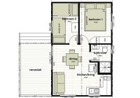 cabin floor plans oxley anchorage caravan park 2 Bedroom Cabin Floor Plans