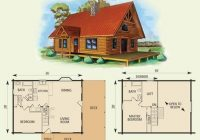 cabin floor plans with loft log cabin with loft floor plans esprit Cabin Floor Plans With A Loft