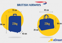 cabin luggage and checked bags on british airways flights British Airways Cabin Baggage Size