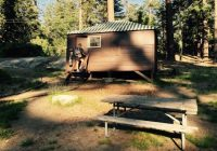 cabin no bathroom picture of grant grove cabins sequoia and kings Cabins In Sequoia National Park