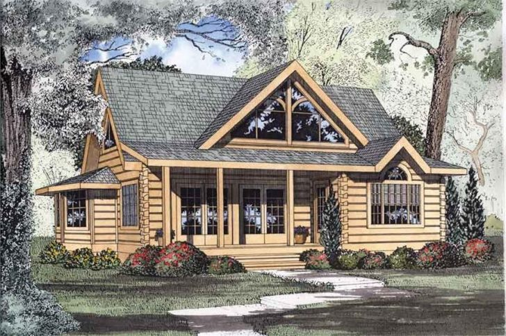 Permalink to Gorgeous Log Cabin Style House Designs Inspirations