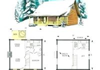 cabin plans with loft 1 1 2 story cottage cabin floor plans with Small Cabin With Loft Floor Plans